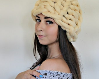 Womens Hats, Knitted Hat, Chunky knit Hat, Slouchy Beanie, Slouch Hat, Winter Hat, Hand Knit Hat Women, Knit Hat Woman,
