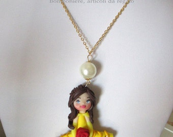 Beautiful doll necklace