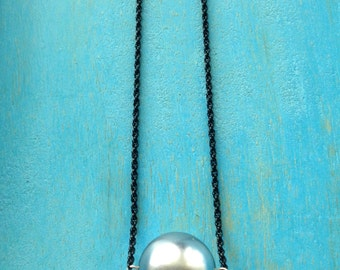Moon in The Night Sky Necklace