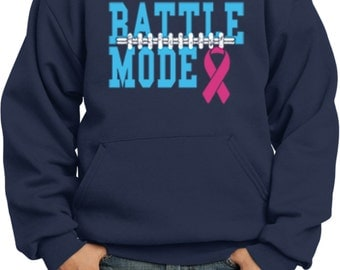 Kid's Breast Cancer Awareness Hoodie Battle Mode Hoody 18776-PC90YH