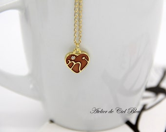 Scorpio Necklace, Scorpio Charm, Enamel Scorpio Charm Necklace, Gold Scorpio Necklace, Scorpio Pendant , Horoscope Zodiac Jewelry