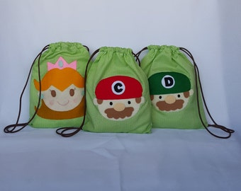 Backpack Super Mario Bros candy