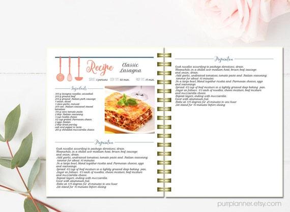 Bevorzugt Davaus.net = Modele Fiche Recette Cuisine Word ~ Avec des idées  MV72