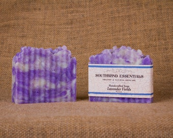 Handcrafted Soap: Lavender Fields