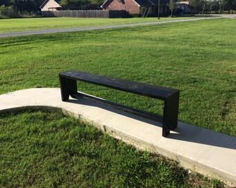 Modern farmhouse bench