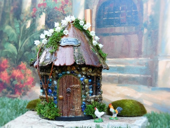 Fairy House/ Outddor Fairy House/ Homemade Fairy House/ The