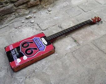 """Cigar Box Guitar """"Feel The Freedom"""""""