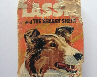 Vintage Little Lassie and the Shabby Sheik Book