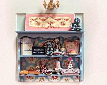 Shadow Box miniatures frame - Paris