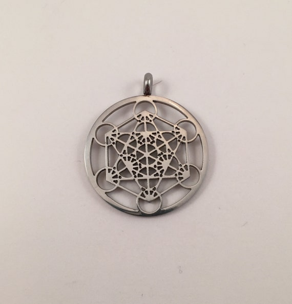 Price reduction metatrons cube necklace by euphorikcreations for Metatron s cube jewelry