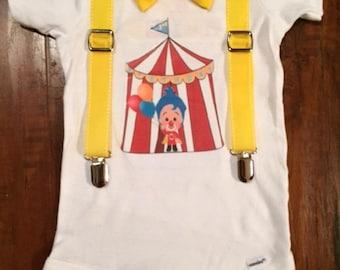 Custom Clown Onesie or Tshirt!