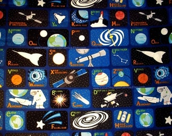 Pluto fabric etsy for Outer space material