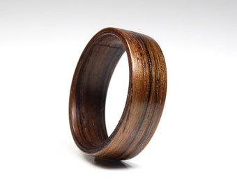 wood rings for men from indian rosewood bentwood ring wooden jewelry - Wooden Wedding Rings For Men