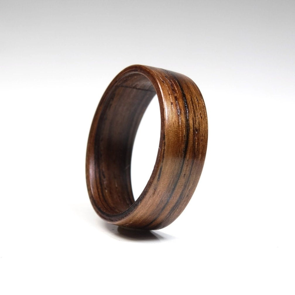 Wooden Anniversary Rings