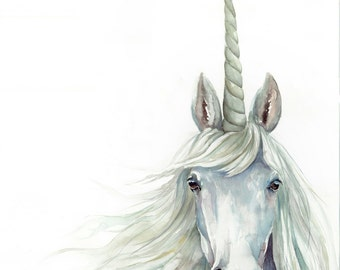 Unicorn - Art Print