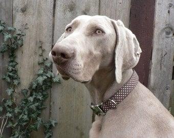Dog Collar, Adjstable dog Collar, metal buckle