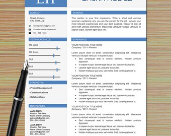 professional one page resume template for microsoft word cover letter writing tips modern