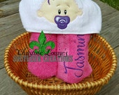 Personalised Baby Hooded Towels, Infant Towels,Hooded Beach Towels, Character Towels, Swim Towels, Cruise Towel, Baby Shower Gifts, New Baby