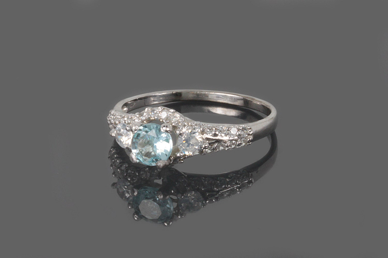 promise ring gemstone ring birthstone ring halo ring. Black Bedroom Furniture Sets. Home Design Ideas