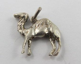 Camel Vintage Sterling Silver Charm.