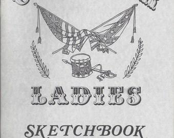 Civil War Ladies Sketchbook Volume 3 for Costumes