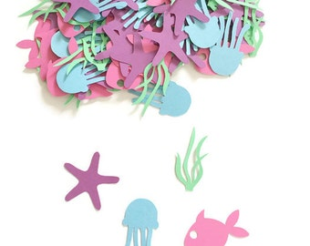 Under The Sea Party Confetti - Under The Sea Party Decorations - Mermaid Party Decorations - Mermaid Birthday Party - Under The Sea Birthday