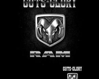 black dodge ram logo. vintage dodge ram guts and glory emblem adult unisex t shirt 20414d2 black logo 1