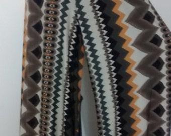 High Waist Chevron Stripe Stretchy Long Loose Palazzo Trousers Pant