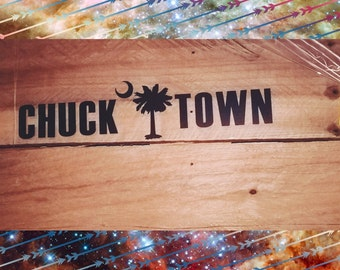 Chuck Town Decal