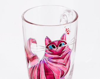 Cat Lady Mug, Girlfriend Mug, Gift for Her, Cat Coffee Mug, Cat Mom Mug, Mother of Cats, Unique Mug