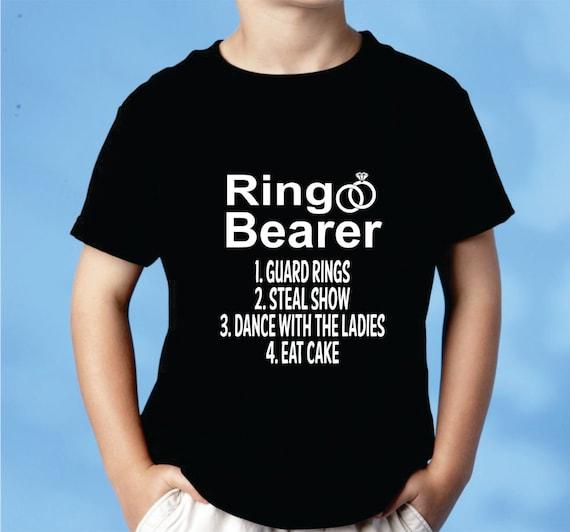 Wedding Gift Ideas For Ring Bearer: Ring Bearer Shirt Wedding Party Ring Bearer Gift