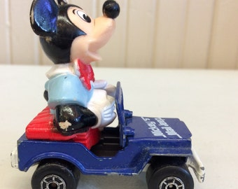 1979 Lesney Matchbox Mickey's Mail Jeep