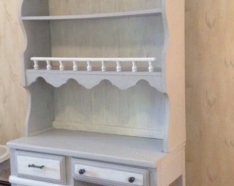 SOLD: Shabby Chic Desk with Hutch- Local Delivery Only