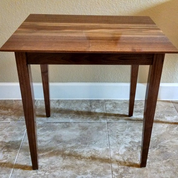 Solid Wood Coffee And End Tables For Sale: SALE Side Or End Table Solid Black Walnut Wood // Coffee