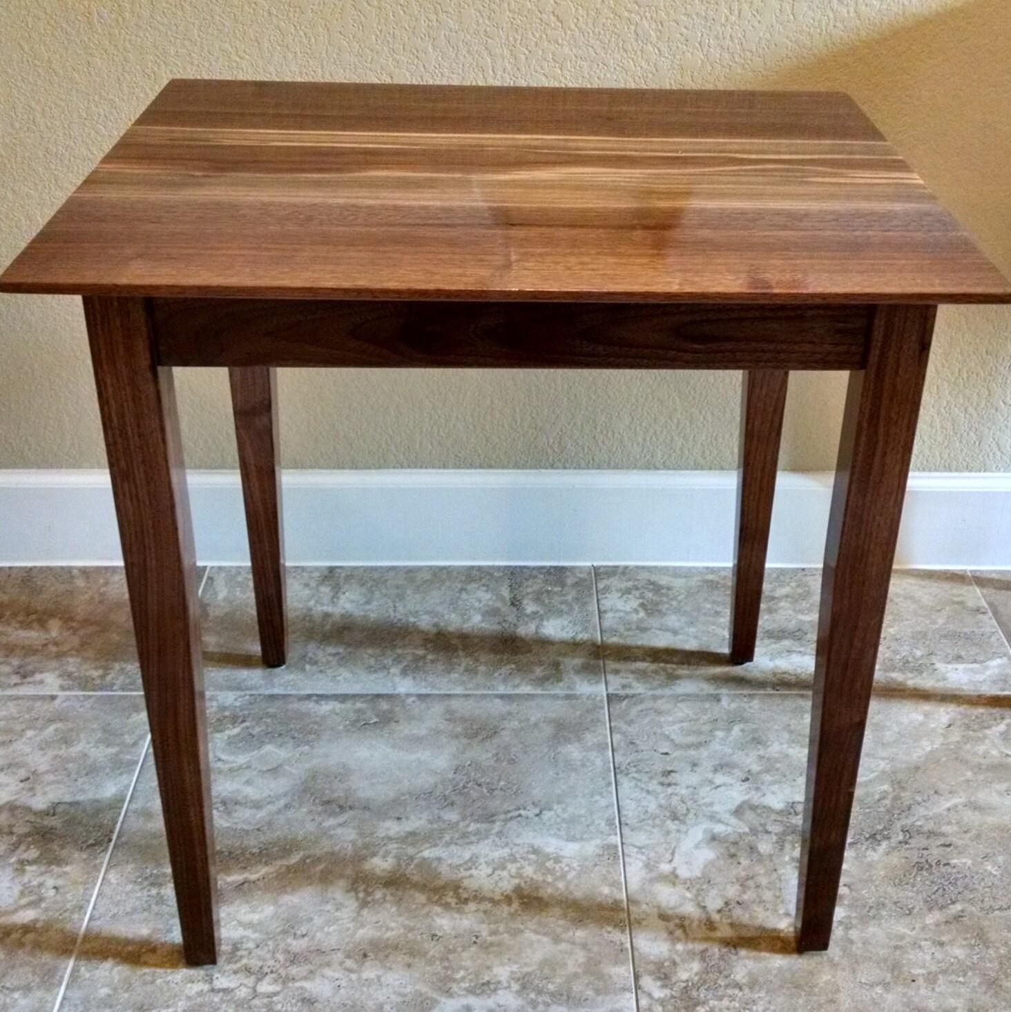 Rustic Foyer Jr : Sale side or end table solid black walnut wood coffee