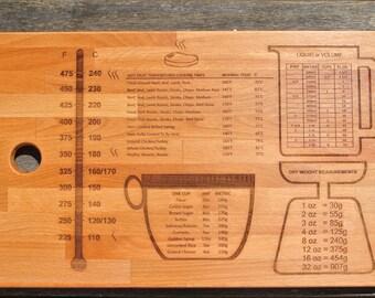 Wooden Chopping Board / Cutting Board / Chopping Block / Culinary Tool / Chopping Board / Gift Ideas /Gift for Wedding / Engraved
