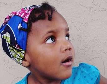 Turban/banner/kid headband/headwrap pre tied