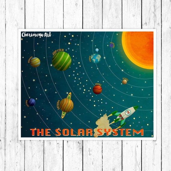 solar system nursery baby room - photo #12