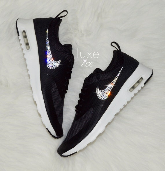 097da9a03b76 Nike Air Max Thea Black Summit White Wolf with by ShopLuxeIce well-wreapped