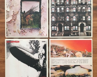 Led Zeppelin Album Cover Coasters-Ready!