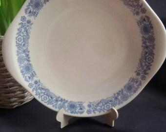 Royal Doulton Cranbourne set of 4 Trio's, Sugar Bowl, Creamer and Cake Plate