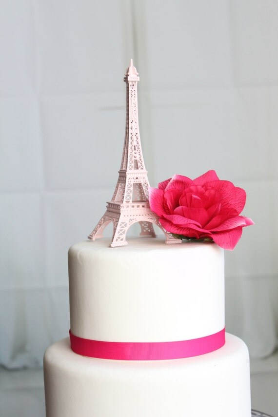 Pink Paris Cake Ideas
