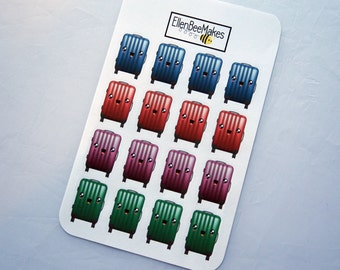Kawaii Suitcase Stickers