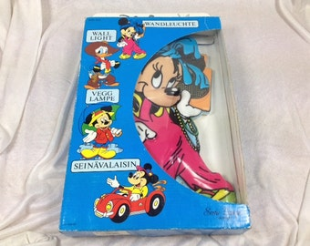 Walt Disney Minnie Mouse Lamp - Disney Lamps