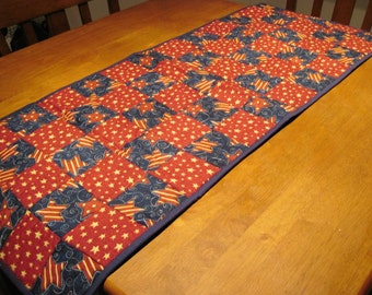 American Themed Table Runner