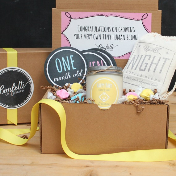 Baby Gifts For New Moms : New parents gift box mom basket by