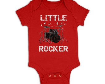 Little Rocker baby grow