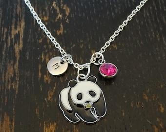 Panda Necklace, Panda Charm, Panda Pendant, Panda Jewelry, Panda Gifts, Panda Lovers, Panda Bear Necklace, Animal Necklace, Panda Bear Gift