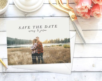 Simple Save the Date Announcement | Printable