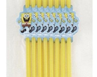 SpongeBob Squarepants Decorated Drink Straws 20ct